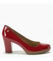 Zapato - Cara - Rojo